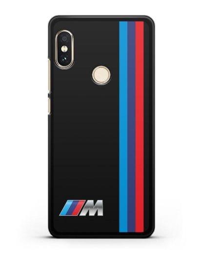 Чехол BMW M Perfomance силикон черный для Xiaomi Redmi Note 5
