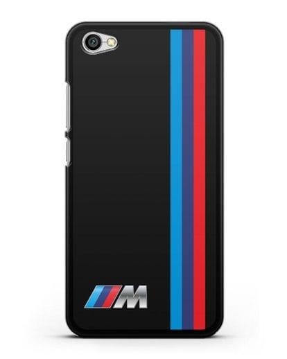 Чехол BMW M Perfomance силикон черный для Xiaomi Redmi Note 5A