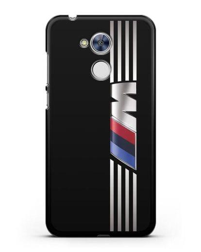 Чехол с символикой BMW M серия силикон черный для Honor 6A