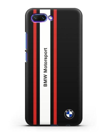 Чехол BMW Motorsport силикон черный для Honor 10