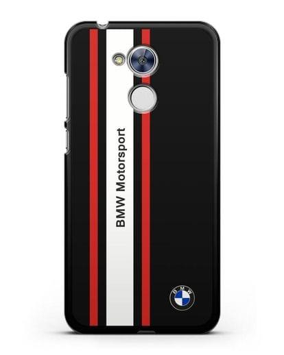 Чехол BMW Motorsport силикон черный для Honor 6A