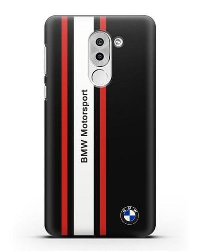 Чехол BMW Motorsport силикон черный для Honor 6X
