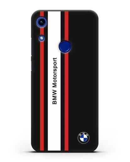 Чехол BMW Motorsport силикон черный для Honor 8A