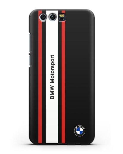 Чехол BMW Motorsport силикон черный для Honor 9