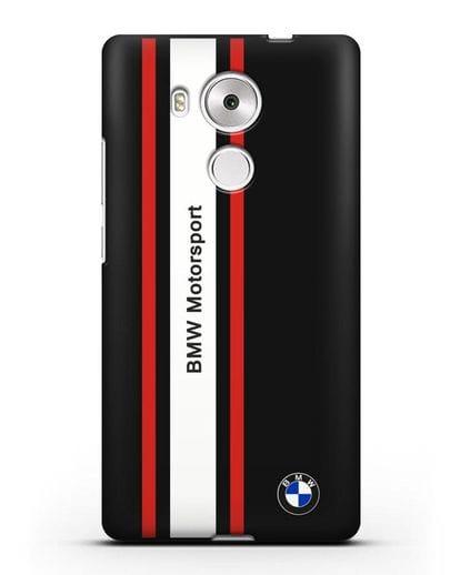 Чехол BMW Motorsport силикон черный для Huawei Mate 8