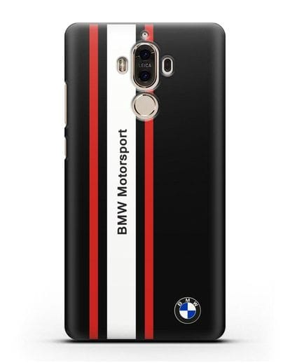 Чехол BMW Motorsport силикон черный для Huawei Mate 9