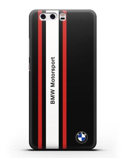 Чехол BMW Motorsport силикон черный для Huawei P10