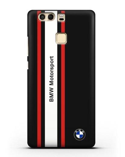 Чехол BMW Motorsport силикон черный для Huawei P9