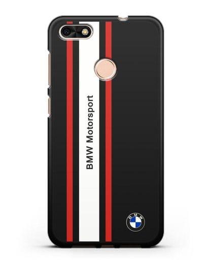 Чехол BMW Motorsport силикон черный для Huawei P9 Lite mini