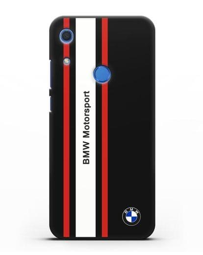 Чехол BMW Motorsport силикон черный для Huawei Y6s