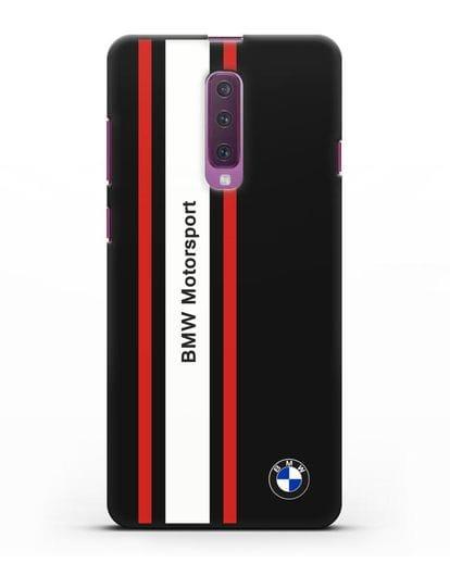 Чехол BMW Motorsport силикон черный для Samsung Galaxy A90 [SM-A908N]