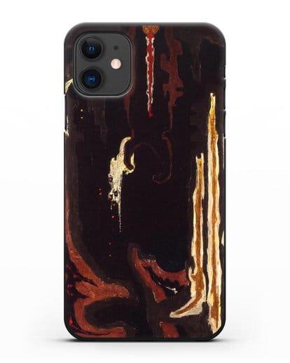 Чехол 1945-H (Стилл Клиффорд) силикон черный для iPhone 11