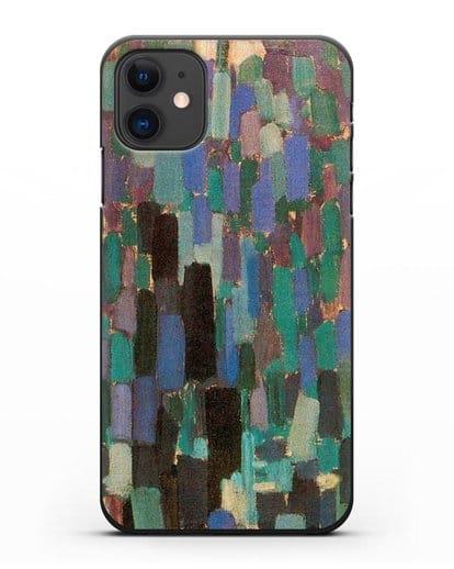 Чехол Ноктюрн (Купка Франтишек) силикон черный для iPhone 11
