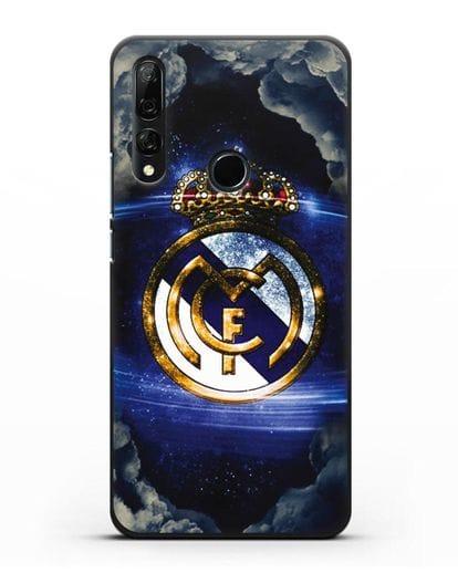 Чехол с картинкой Реал Мадрид силикон черный для Honor 9X