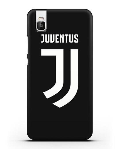 Чехол с логотипом и надписью Juventus силикон черный для Honor 7i