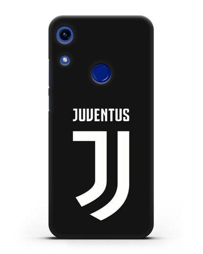 Чехол с логотипом и надписью Juventus силикон черный для Honor 8A