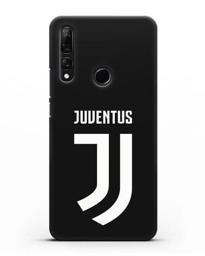 Чехол с логотипом и надписью Juventus силикон черный для Honor 9X
