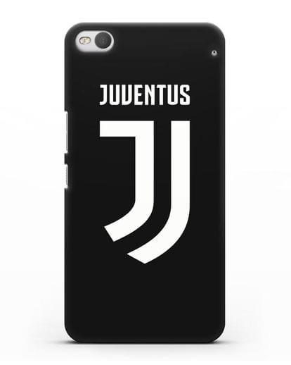 Чехол с логотипом и надписью Juventus силикон черный для HTC One X9