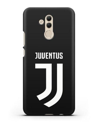 Чехол с логотипом и надписью Juventus силикон черный для Huawei Mate 20 Lite