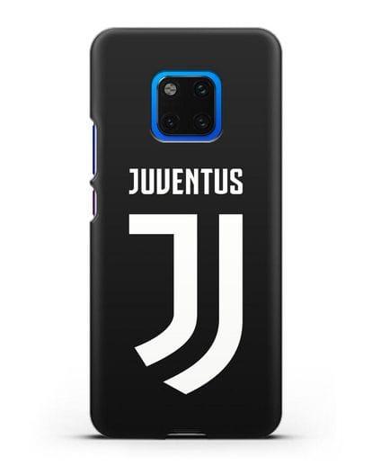 Чехол с логотипом и надписью Juventus силикон черный для Huawei Mate 20 Pro