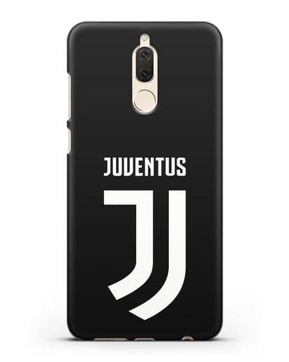 Чехол с логотипом и надписью Juventus силикон черный для Huawei Nova 2