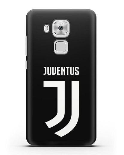 Чехол с логотипом и надписью Juventus силикон черный для Huawei Nova Plus