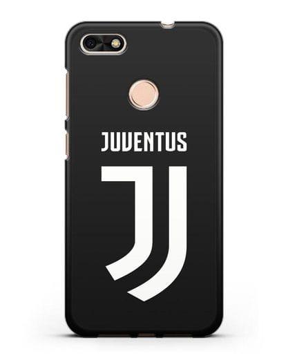 Чехол с логотипом и надписью Juventus силикон черный для Huawei P9 Lite mini