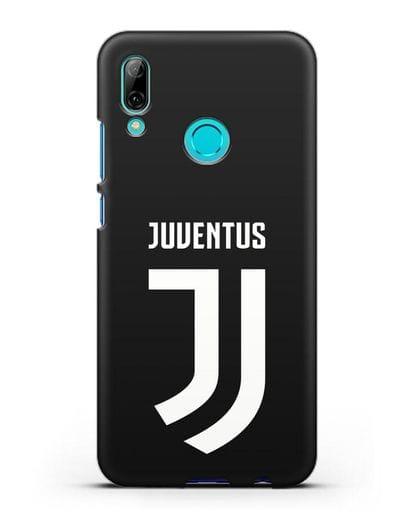 Чехол с логотипом и надписью Juventus силикон черный для Huawei P Smart 2019