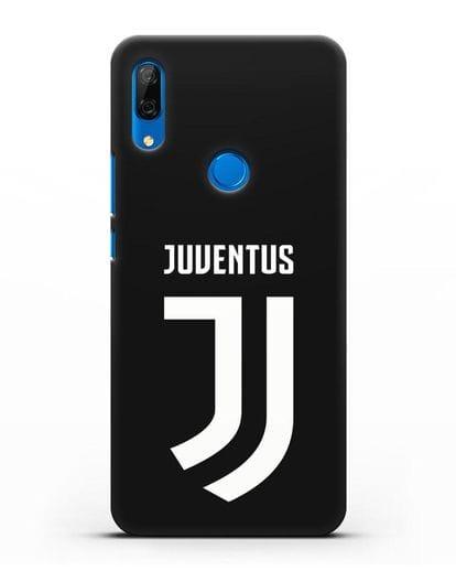 Чехол с логотипом и надписью Juventus силикон черный для Huawei P Smart Z