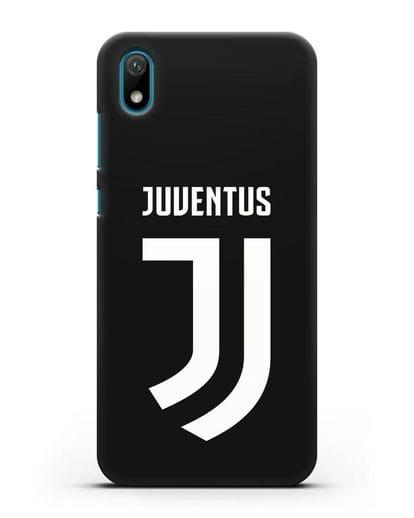 Чехол с логотипом и надписью Juventus силикон черный для Huawei Y5 2019