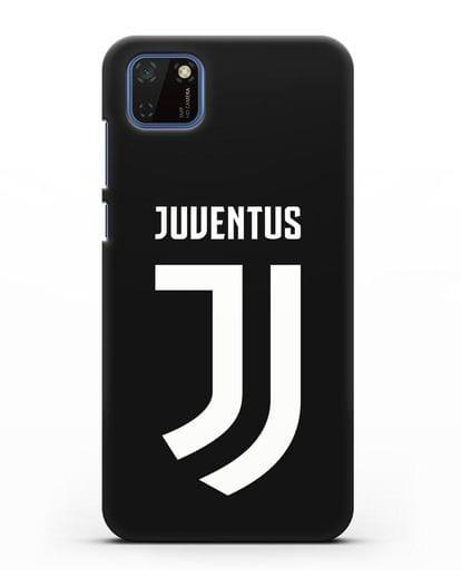 Чехол с логотипом и надписью Juventus силикон черный для Huawei Y5P