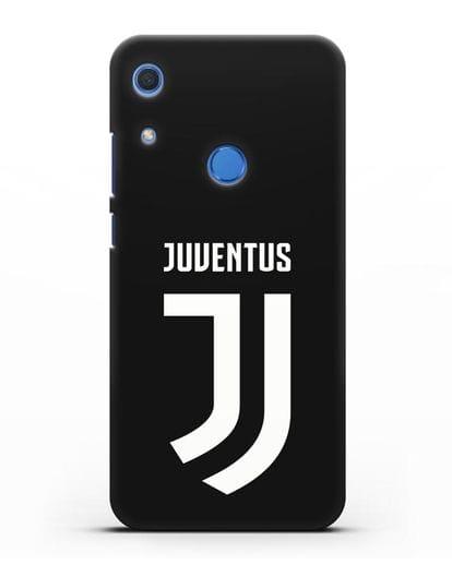 Чехол с логотипом и надписью Juventus силикон черный для Huawei Y6s