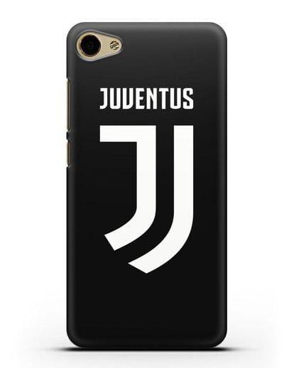Чехол с логотипом и надписью Juventus силикон черный для MEIZU U10