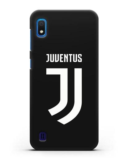 Чехол с логотипом и надписью Juventus силикон черный для Samsung Galaxy A10 [SM-A105F]