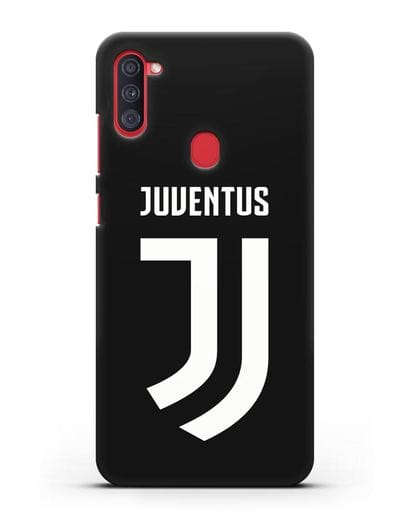 Чехол с логотипом и надписью Juventus силикон черный для Samsung Galaxy A11 [SM-A115F]