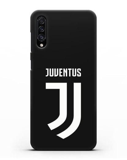 Чехол с логотипом и надписью Juventus силикон черный для Samsung Galaxy A30s [SM-A307FN]