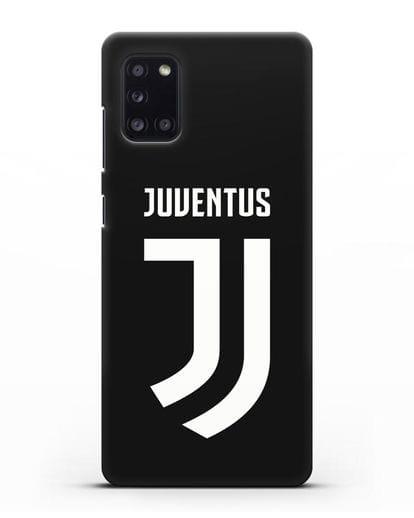 Чехол с логотипом и надписью Juventus силикон черный для Samsung Galaxy A31 [SM-A315F]