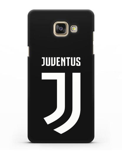Чехол с логотипом и надписью Juventus силикон черный для Samsung Galaxy A3 2016 [SM-A310F]