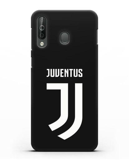 Чехол с логотипом и надписью Juventus силикон черный для Samsung Galaxy A40s [SM-A507FN]