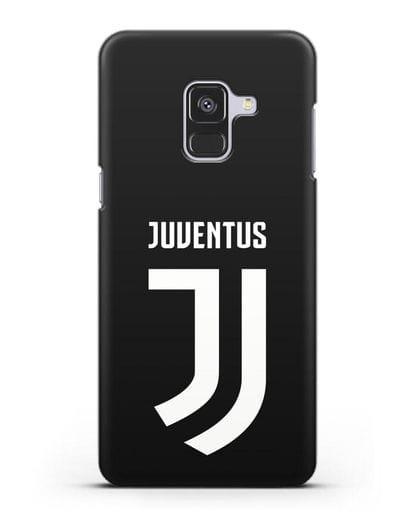Чехол с логотипом и надписью Juventus силикон черный для Samsung Galaxy A8 [SM-A530F]
