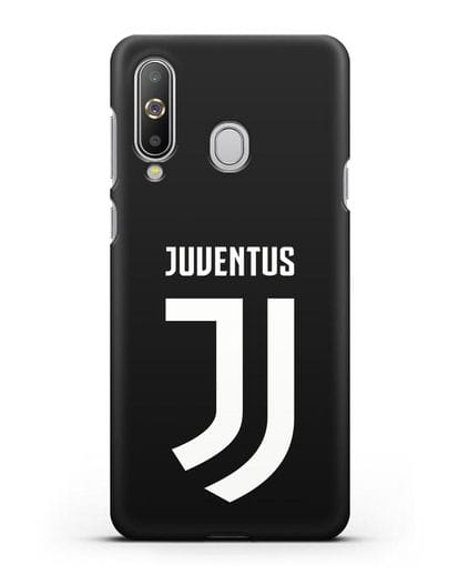 Чехол с логотипом и надписью Juventus силикон черный для Samsung Galaxy A8s [SM-G8870]