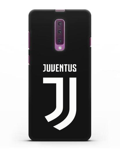 Чехол с логотипом и надписью Juventus силикон черный для Samsung Galaxy A90 [SM-A908N]
