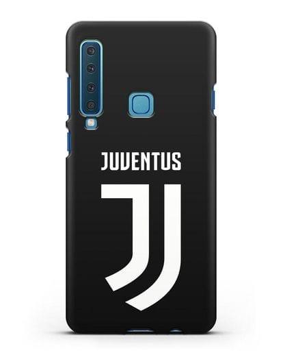 Чехол с логотипом и надписью Juventus силикон черный для Samsung Galaxy A9 (2018) [SM-A920]