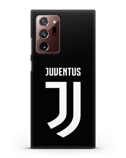 Чехол с логотипом и надписью Juventus силикон черный для Samsung Galaxy Note 20 Ultra [SM-N985F]