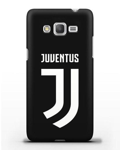 Чехол с логотипом и надписью Juventus силикон черный для Samsung Galaxy J2 Prime [SM-G532]