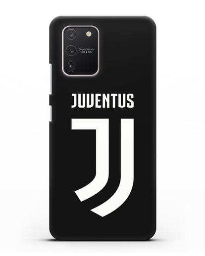 Чехол с логотипом и надписью Juventus силикон черный для Samsung Galaxy S10 lite [SM-G770F]