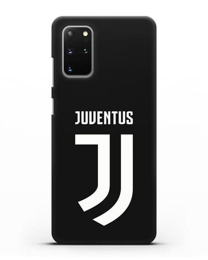 Чехол с логотипом и надписью Juventus силикон черный для Samsung Galaxy S20 Plus [SM-G985F]