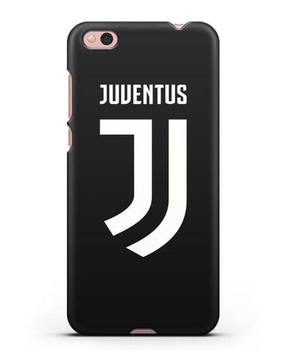 Чехол с логотипом и надписью Juventus силикон черный для Xiaomi Mi 5С