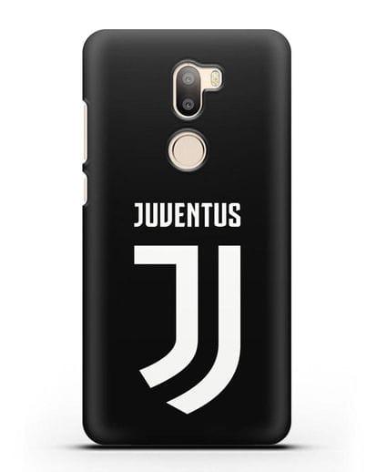 Чехол с логотипом и надписью Juventus силикон черный для Xiaomi Mi 5S Plus