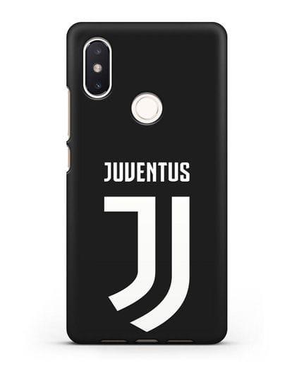 Чехол с логотипом и надписью Juventus силикон черный для Xiaomi Mi 8 SE